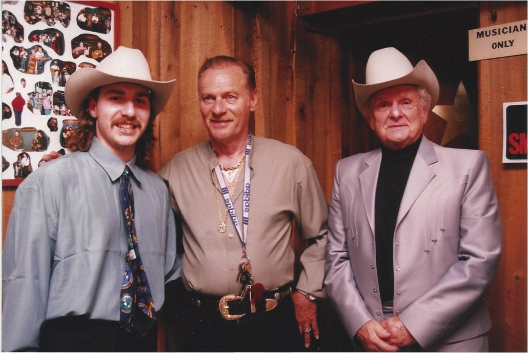 Ralph Stanley Jr., senior and Vern Gosdin-1
