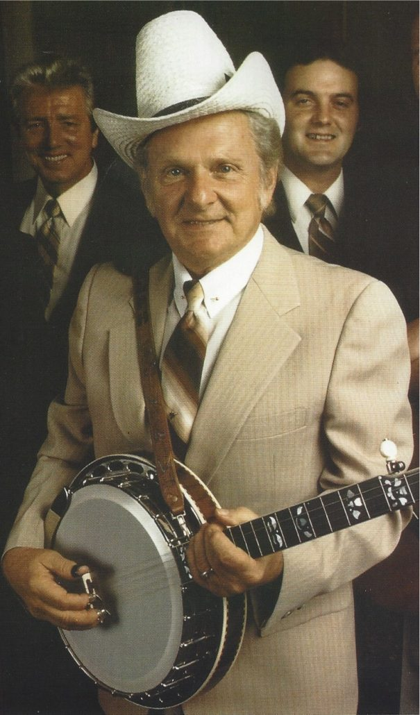 Ralph Stanley up close and personal